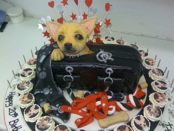 Chihuahua Cake
